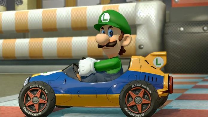Exclusivo do WIi U, Mario KArt 8 é divertido para todas as idades (Divulgação/Nintendo)