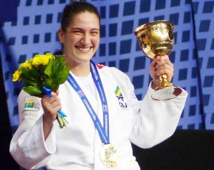 mayra aguiar judo campeão mundial (Foto: Raphael Andriolo)