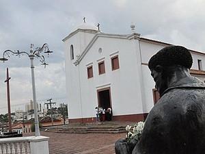 Festa deve reunir fiéis no entorno da Igreja de São Benedito Cuiabá. (Foto: Iara Vilela / G1)