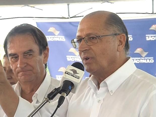 Governador afirmou que vai anunciar novo secretário (Foto: Reprodução / TV TEM)