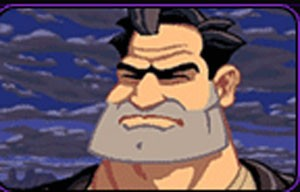 Ben, o personagem principal de 'Full Throttle' (Foto: Divulgação/LucasArts)