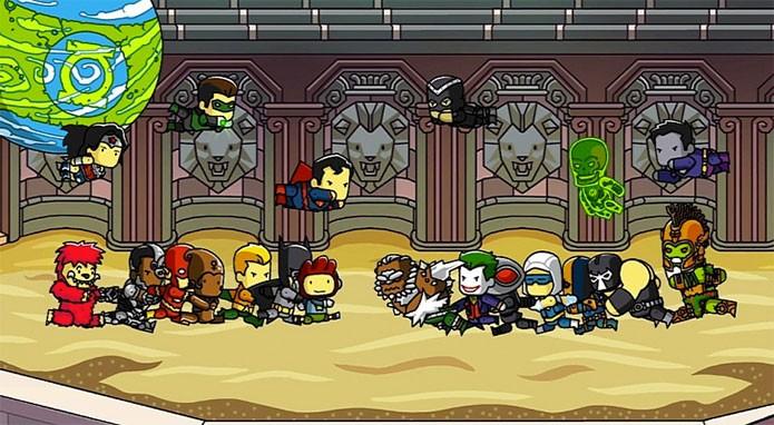 Scribblenauts Unmasked mistura heróis da DC e criatividade (Foto: Divulgação)