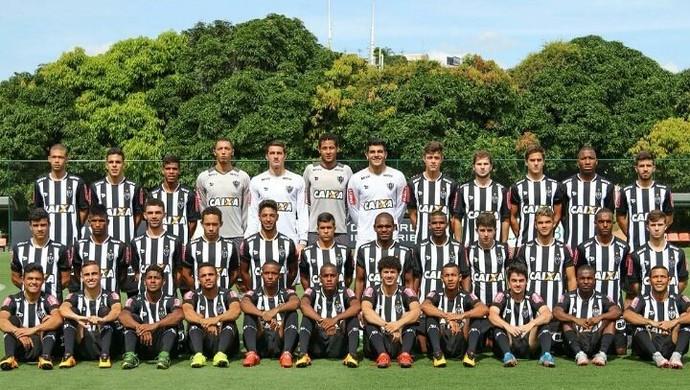 Mateus no Atlético Mineiro (Foto: Reprodução / Facebook)