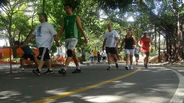 marcus andrey parque da jaqueira (Foto: Terni Castro / GloboEsporte.com)