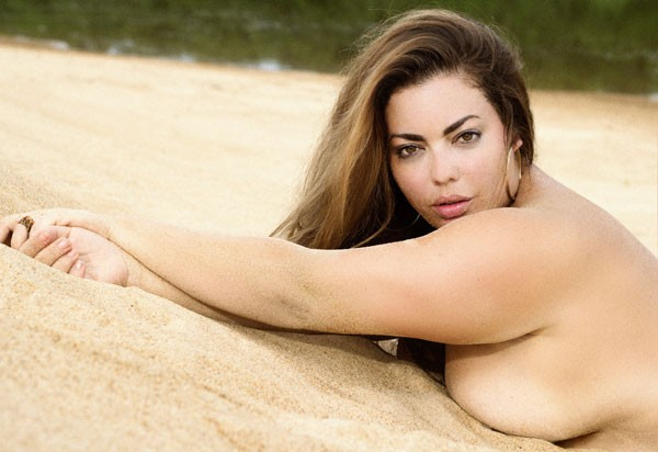 Fluvia Lacerda, na Playboy (Foto: Divulgação )