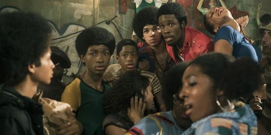 A nova série do Netflix The get down. Dirigida pelo excêntrico cineasta Baz Luhrmann, ela conta a história do início hip-hop (Foto: Divulgação)