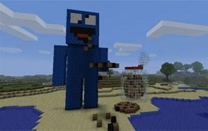 Uma das criações de 'Minecraft'  (Foto: Divulgação/Minecraft Museum)
