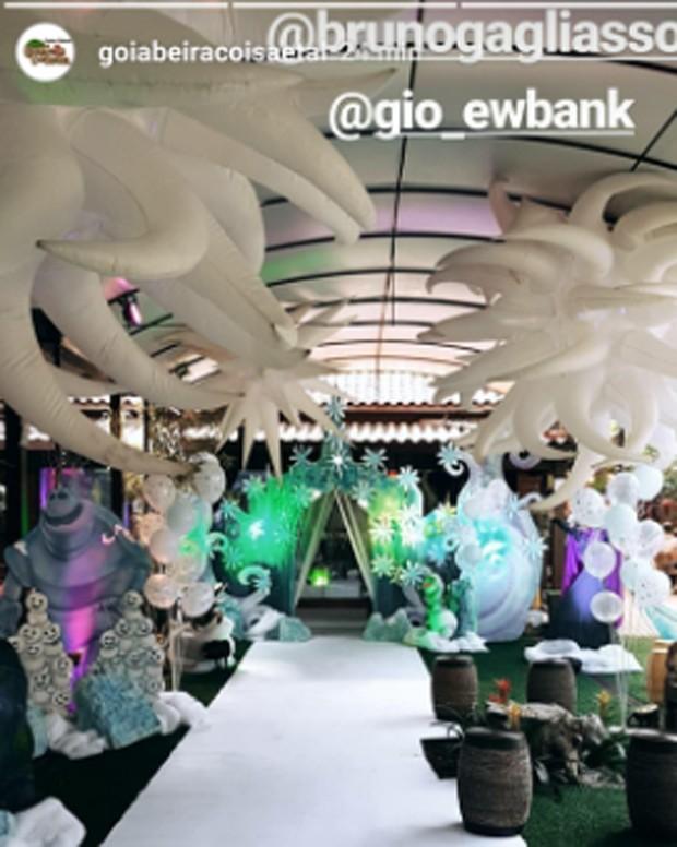 Decoração de festa de Titi (Foto: Reprodução)