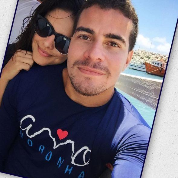 Paloma e o guapo Thiago Martins (Foto: Reprodução/Instagram)