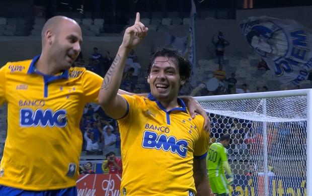 Ricardo Goulart, meia do Cruzeiro (Foto: Reprodução / Premiere)