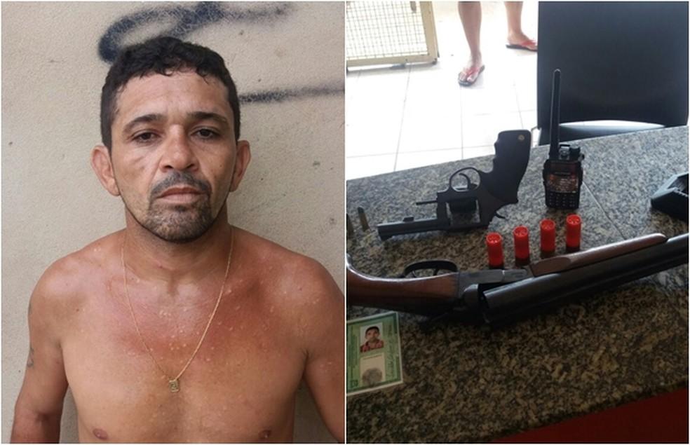 Bonfim Tarcísio tinha fugido de Alcaçuz no dia 14 de janeiro deste ano. (Foto: Divulgação / PM)
