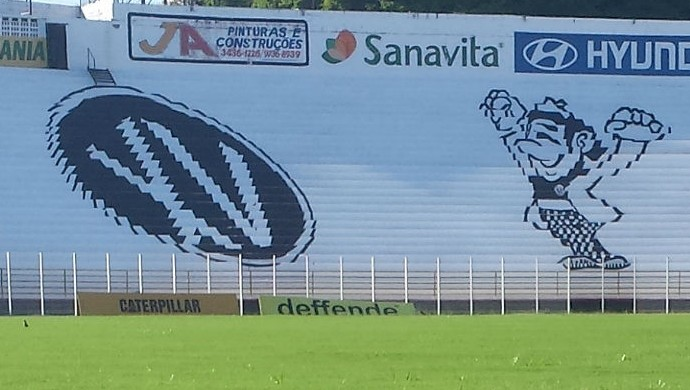 Estádio Barão da Serra Negra  XV de Piracicaba Nhô Quim Piracicaba (Foto: Guto Marchiori)
