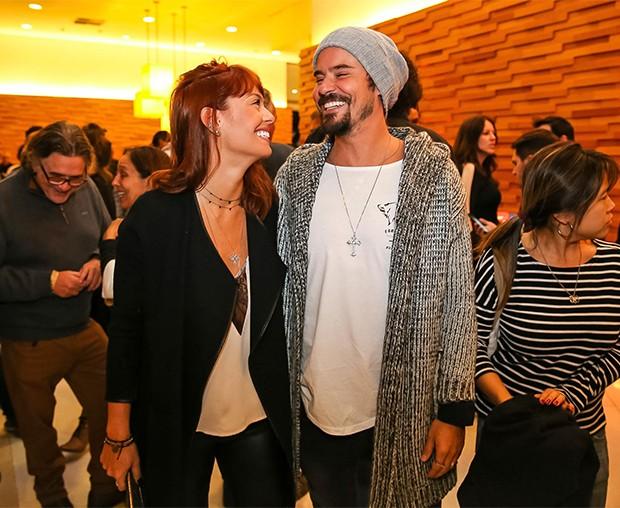 Paulo Vilhena e Amanda Beraldi (Foto: Fotos: Raphael Castello/AgNews)