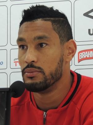 Bruno Aguiar Joinville zagueiro (Foto: João Lucas Cardoso)