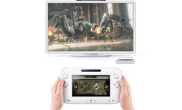 Imagem da demonstração do Wii U usando imagens de 'The Legend of Zelda' (Foto: Divulgação)