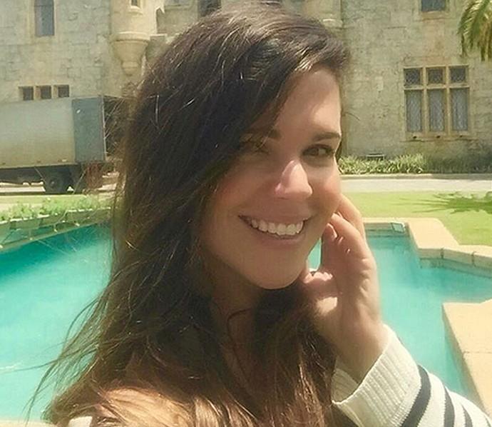 Viviane Victorette faz faculdade de Psicologia (Foto: Arquivo Pessoal)