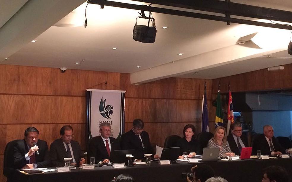 Candidatos à lista tríplice de indicados para chefiar a Procuradoria Geral da República (Foto: Tahiane Stochero/G1)