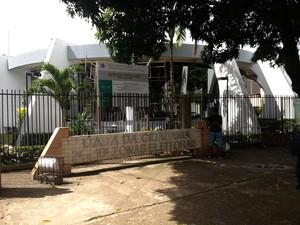 Prédio reformado da Casa da Cidadania (Foto: John Pacheco/G1)