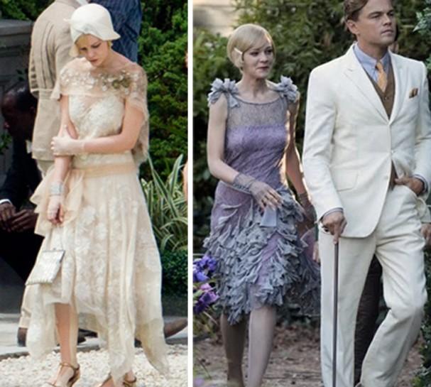 Grande Gatsby vestidos  (Foto: Divulgação )