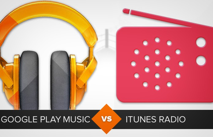 Comparativo google play music itunes radio (Foto: Arte/TechTudo)