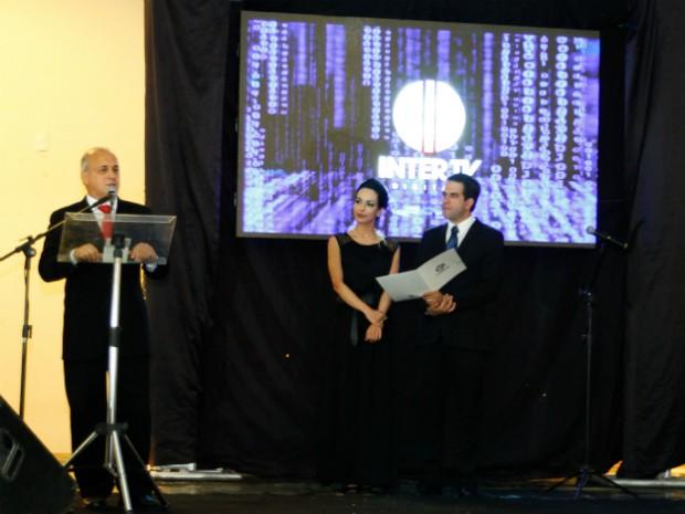 Diretor da Inter TV no Núcleo Minas, Fábio Braidatto salientou que o lançamento do sinal digital é um marco histórico. (Foto: Camila Berto)