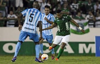 Com gol no final, Londrina vence o Guarani por 2 a 1 no Brinco de Ouro