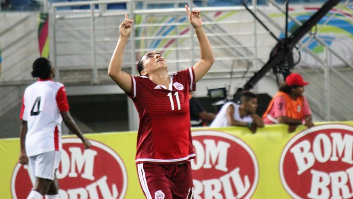 Monica Ocampo México x Trinidad e Tobago (Foto: Diego Simonetti/Blog do Major)