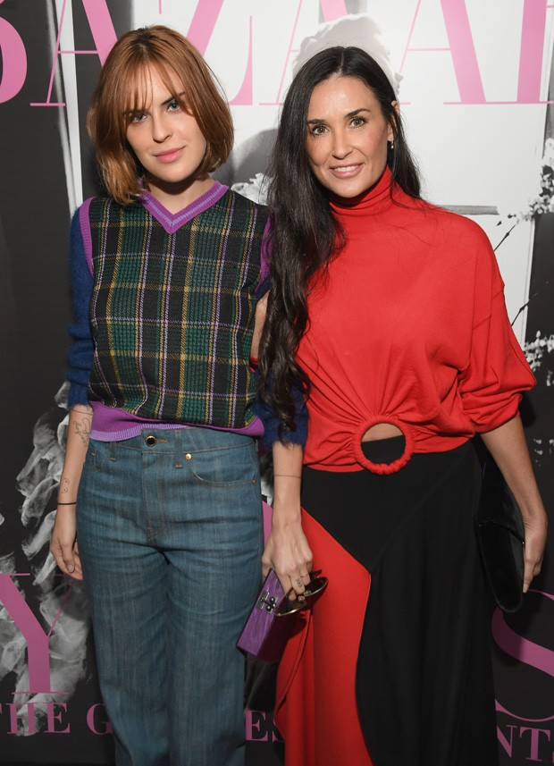 Tallulah Willis e Demi Moore (Foto: Getty Images)