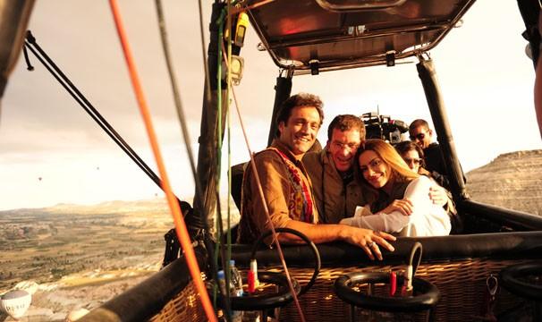 A jornada turca do elenco de 'Salve Jorge' (Foto: Crédito: TV GLOBO / João Miguel Júnior)