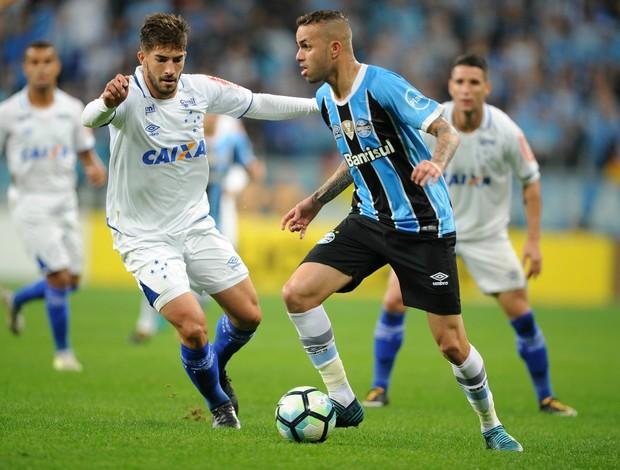Luan Grêmio x Cruzeiro