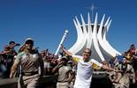 Acompanhe o revezamento da tocha pelo Brasil em tempo real (Reuters)