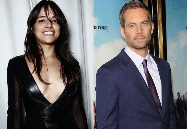 Michelle Rodriguez e Paul Walker (Foto: Getty Images)