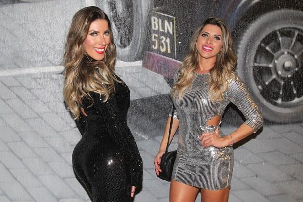 Tati Minerato e Ana Paula Minerato (Foto: Manuela Scarpa/Brazil News)