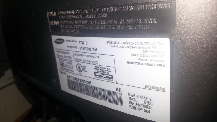 Caso a falha seja causa por incompatibilidade do monitor com a placa de vídeo, procure o vendendo ou o fabricante dos produtos (Foto: Reprodução/Daniel Ribeiro)