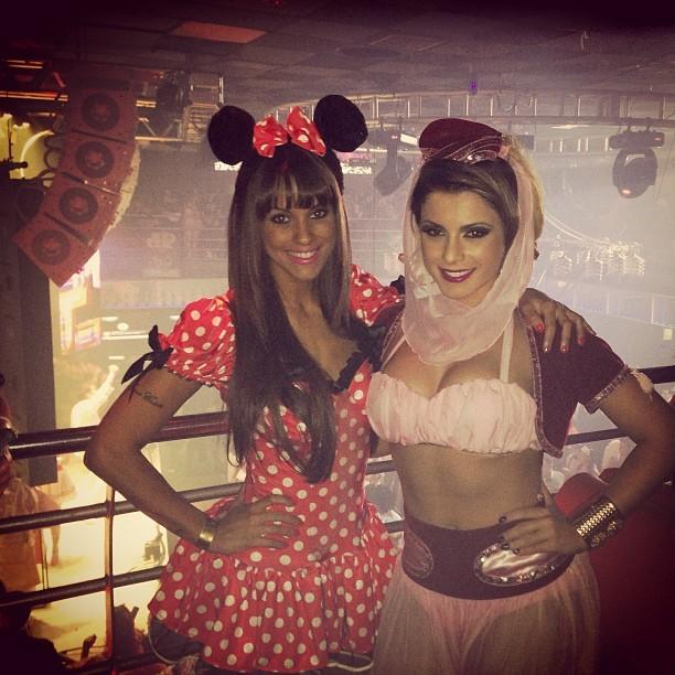 Carol Dias e Babi Rossi em festa em Campinas, interior de São Paulo (Foto: Instagram/ Reprodução)