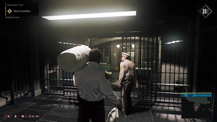 Mafia 3: esqueça as missões da história e siga os veículos do sindicato (Foto: Reprodução/Victor Teixeira)
