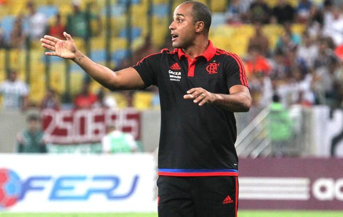 David, Flamengo X Fluminense (Foto: Gilvan de Souza / Flamengo)