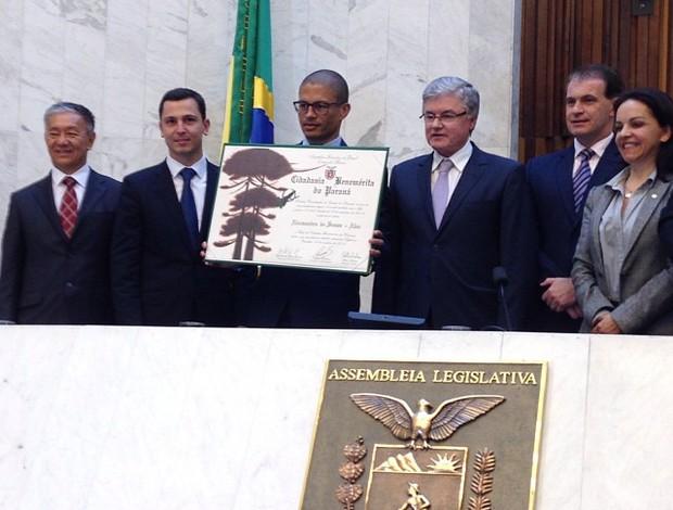 Alex Cidadão Benemérito do Paraná Coritiba (Foto: Divulgação)