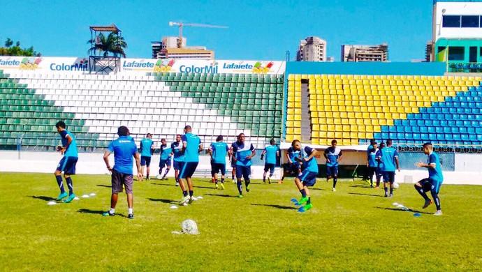 CSA treino (Foto: Emerson Júnior/Assessoria do CSA)