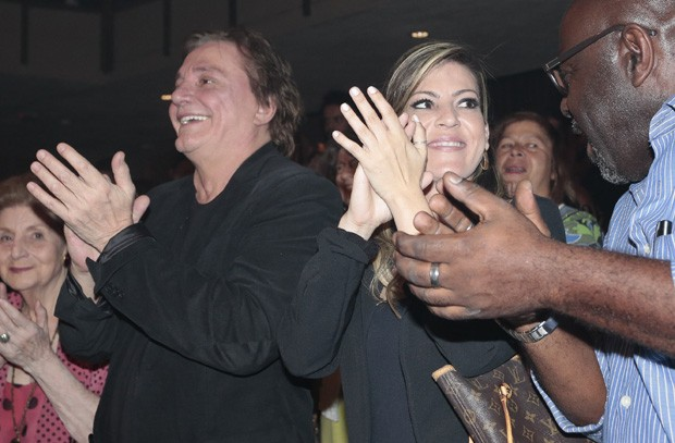 Fábio Jr e Fernanda Pascucci (Foto: Rafael Cusato/Brazil News)