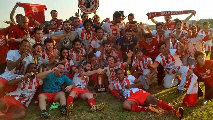 Guarany de Bagé Gaúcho Terceirona Gaúcha (Foto: Kleiton Venhofen/Divulgação Guarany FC)