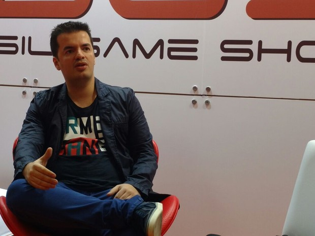 Marcelo Tavares, da Brasil Game Show (Foto: G1)
