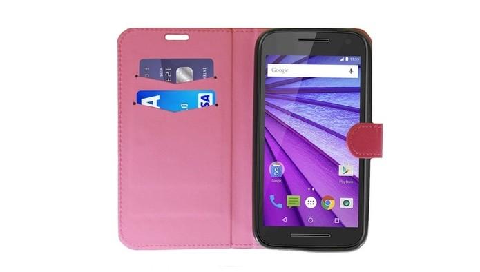 Capa personalizada para celular no modelo de carteira (Foto: Divulgação/Underbody)