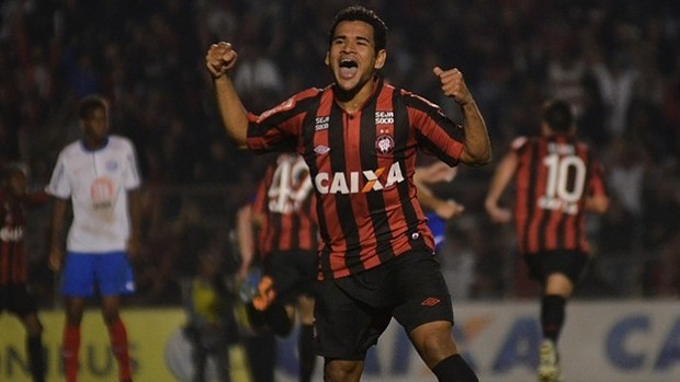 Ederson, atacante do Atlético-PR (Foto: Site oficial do Atlético-PR/Divulgação)