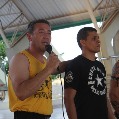 Rudimar Fedrigo (Chute Boxe) em Teresina (Foto: Wenner Tito )