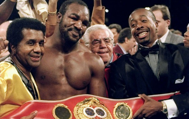 Emanuel Steward holyfield boxe (Foto: Getty Images)
