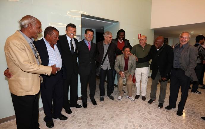 ex-jogadores brasileiros plano de saude cbf (Foto: André Durão)