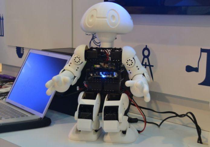 Robôs podem utilizar o microcomputador (Foto: Divulgação)