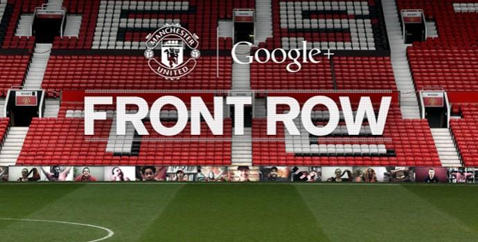 Manchester United Front Row (Foto: Divulgação/Facebook Manchester United)