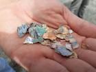 Dinheiro picado é achado em terreno próximo à represa em Igaratá, SP